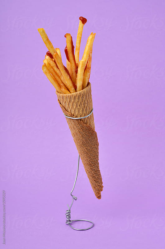 french fries by juan moyano for Stocksy United