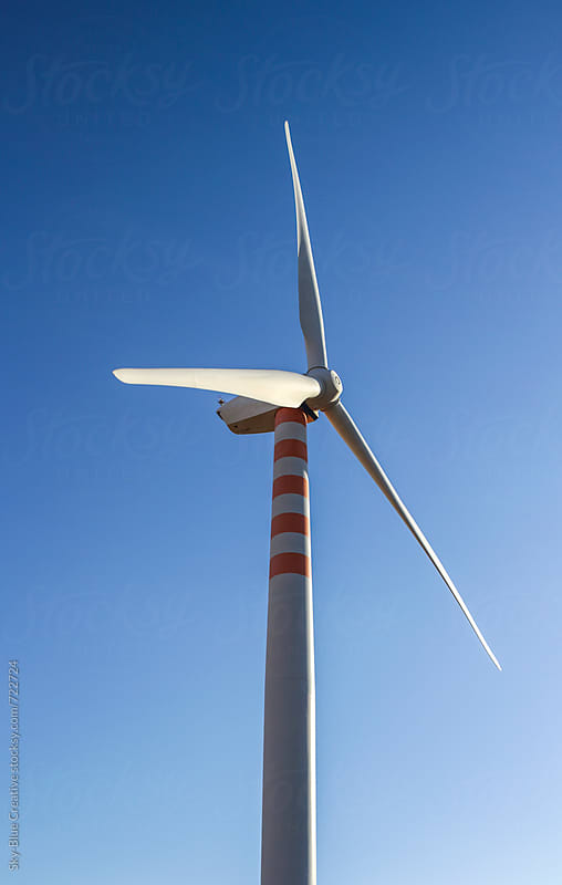 Wind turbines by Luca Pierro for Stocksy United