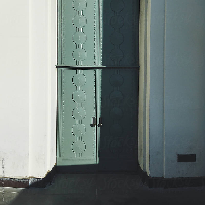GOOD OL GREEN DOOR by Rob Martinez for Stocksy United