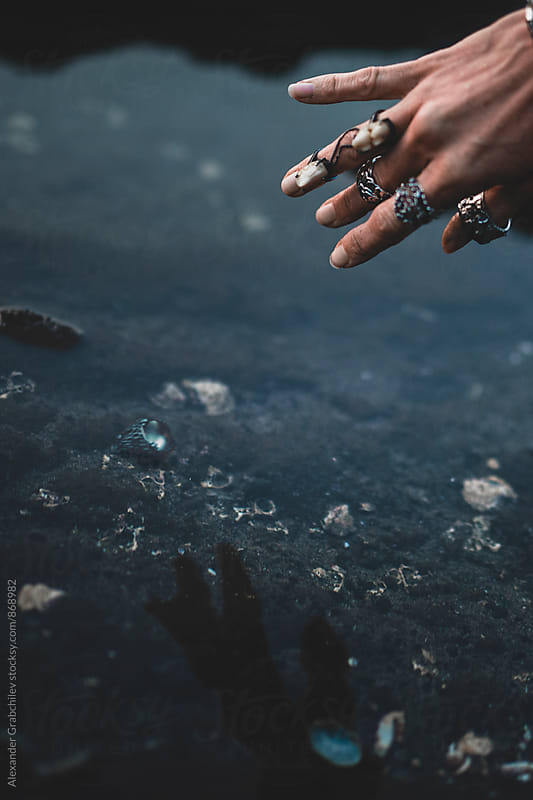 Hand For Ring Jewelry by Alexander Grabchilev for Stocksy United