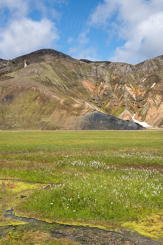 Landmannalaugar Iceland by Andreas Gradin for Stocksy United