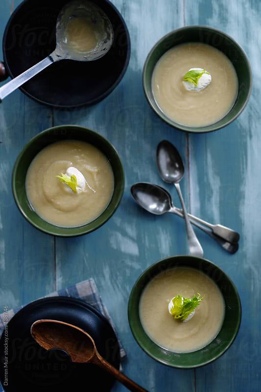 Celery Soup by Darren Muir for Stocksy United