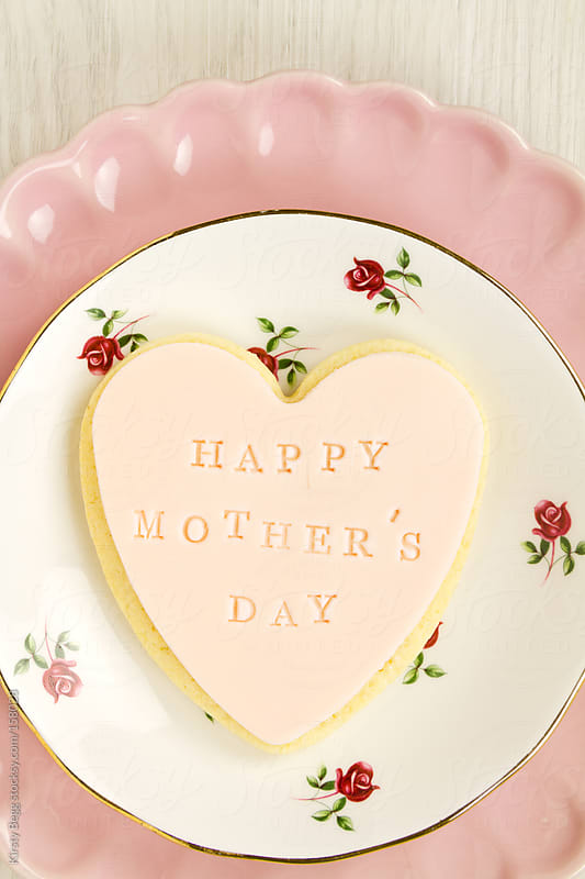 Happy Mother's Day cookie by Kirsty Begg for Stocksy United