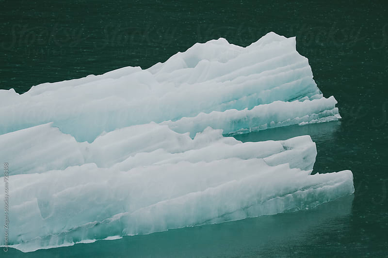 Iceberg in Alaska by Cameron Zegers for Stocksy United