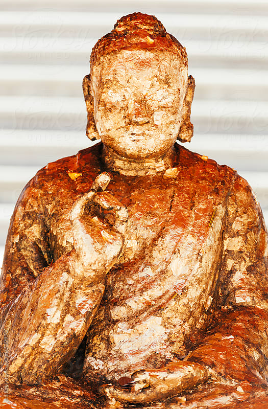 sculpture of buddha  by jira Saki for Stocksy United