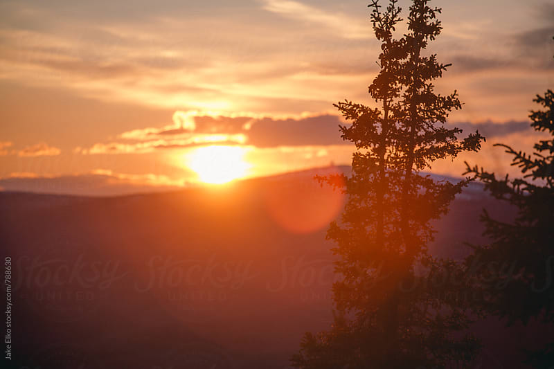 Ester Dome Sunset 2 by Jake Elko for Stocksy United