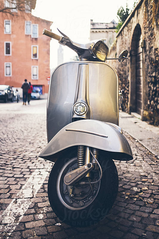 Vintage Scooter by Good Vibrations Images for Stocksy United