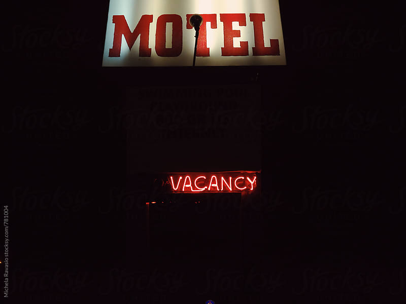 Motel vacancy by michela ravasio for Stocksy United