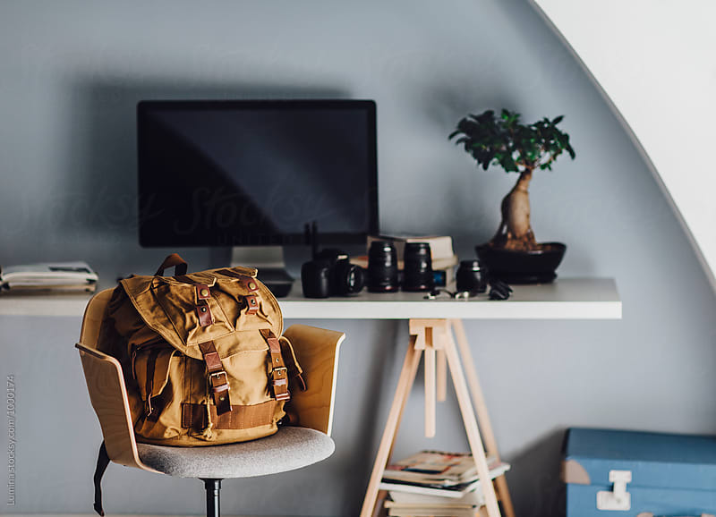 Photographer's Workspace by Lumina for Stocksy United
