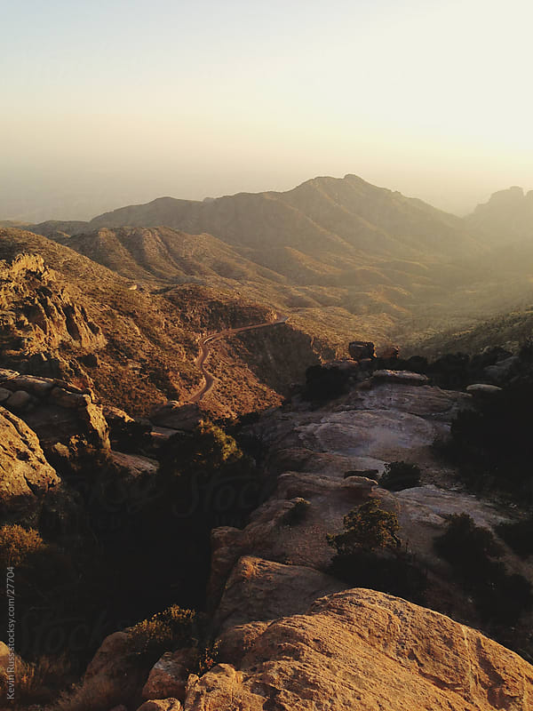 Rocky Hills Desert Landscape by Kevin Russ for Stocksy United