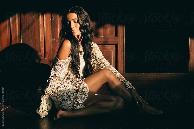 Beautiful Fashion Model by Marija Savic for Stocksy United
