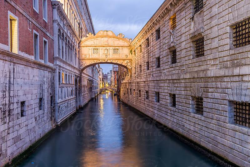 Ponte dei Sospiri by Chris Chabot for Stocksy United
