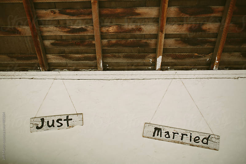 Just Married by Jeff Marsh for Stocksy United