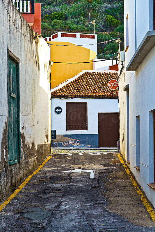 Garachico Rural Streets, Tenerife by VICTOR TORRES for Stocksy United