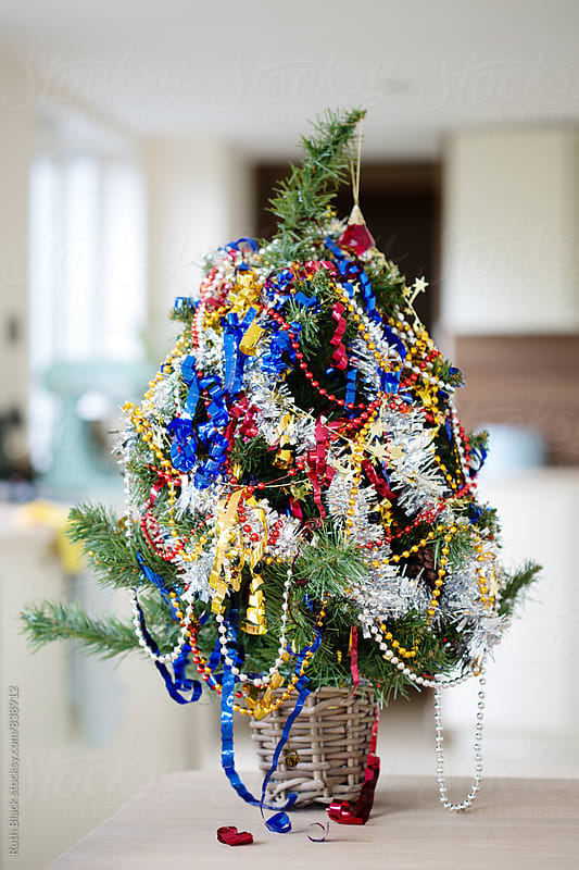 Messy Christmas tree by Ruth Black for Stocksy United