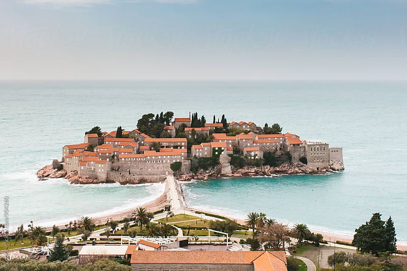 Sveti Stefan, Montenegro by Zocky for Stocksy United