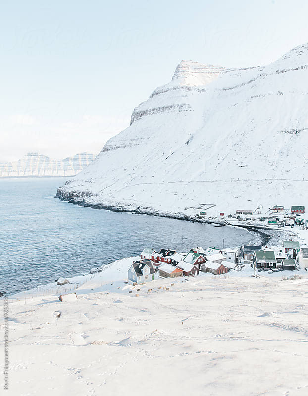 Faroese Village by Kevin Faingnaert for Stocksy United