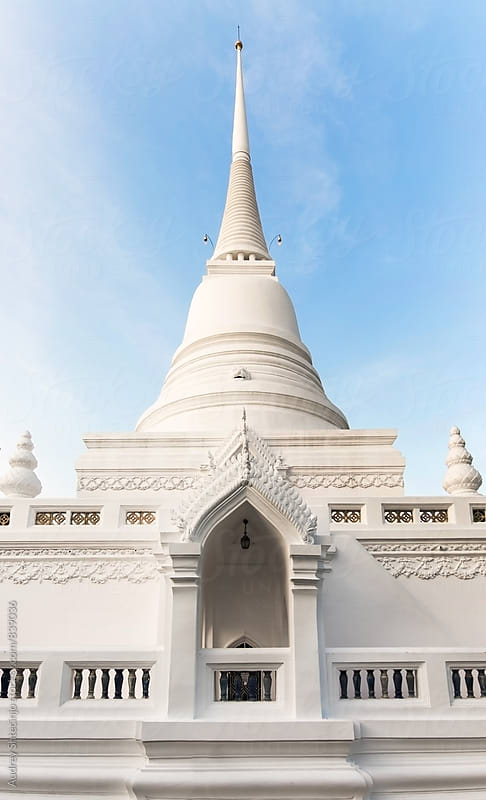 Wat Patum /royal buddhist temple in Bangkok /Thailand by Marko Milanovic for Stocksy United