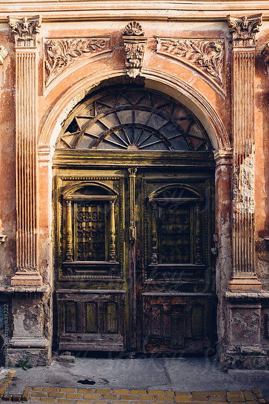 Very Old Door in Novi Sad, Serbia by Nemanja Glumac for Stocksy United