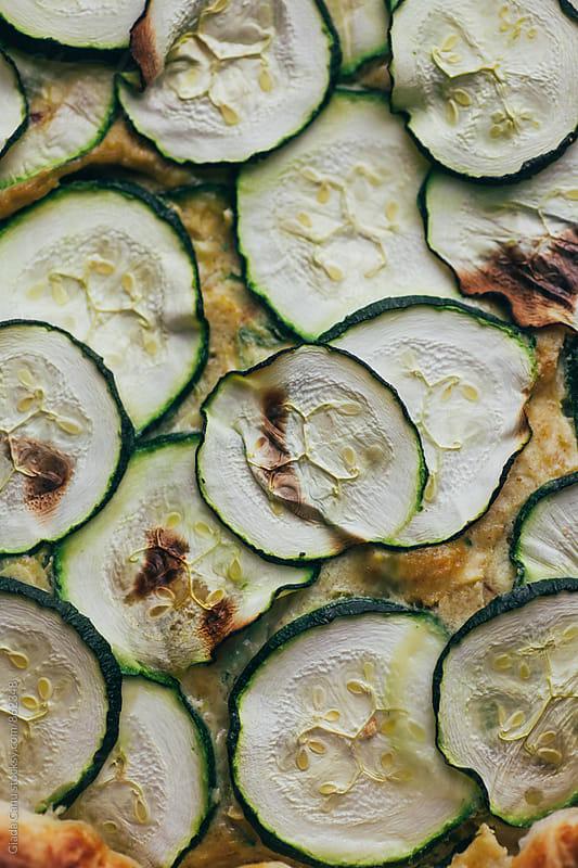 Savoury zucchini pie by Giada Canu for Stocksy United