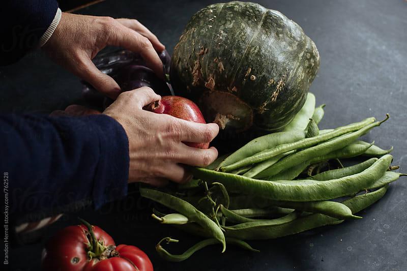 Harvest. by Brandon Herrell for Stocksy United