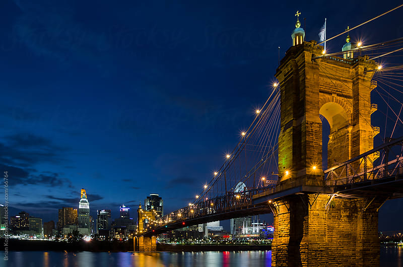Cincinnati Skyline by Brian Koprowski for Stocksy United