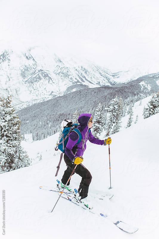 Ski Mountain Tour by Carl Zoch for Stocksy United