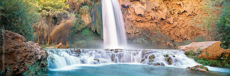 USA, Arizona, Grand Canyon National Park, Havasu Falls by Gavin Hellier for Stocksy United