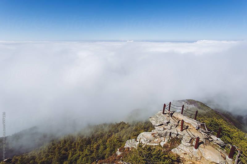 Taibai mountain,Shanxi Province by zheng long for Stocksy United