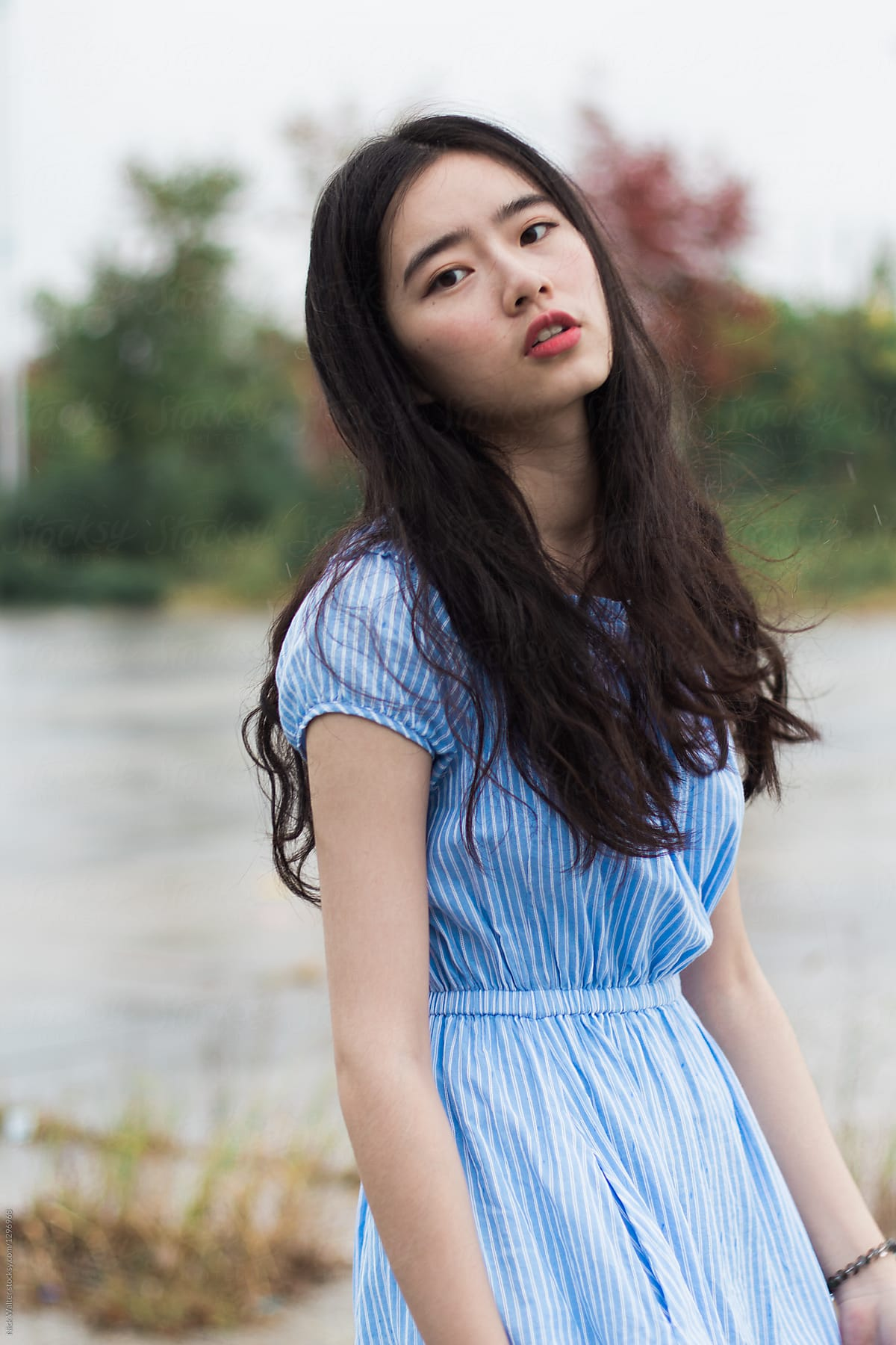 Chic Chinese Girl by Nicklaus Walter