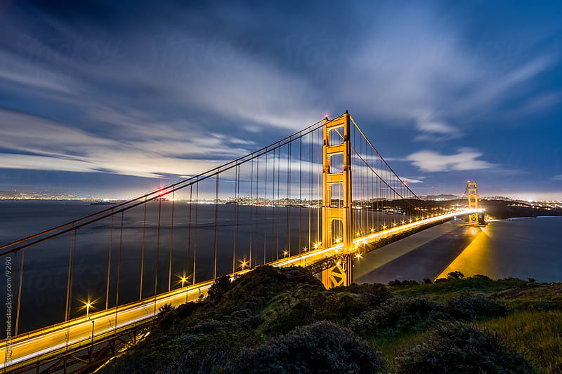 Golden Gate Bridge by Chris Chabot for Stocksy United