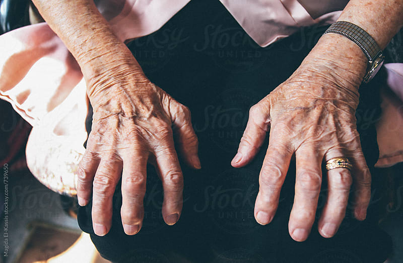 Grandma's hands by Magida El-Kassis for Stocksy United