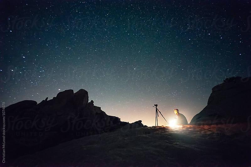 Star gazing by Christian McLeod for Stocksy United