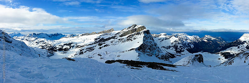Panorama from Jochpass by Peter Wey for Stocksy United