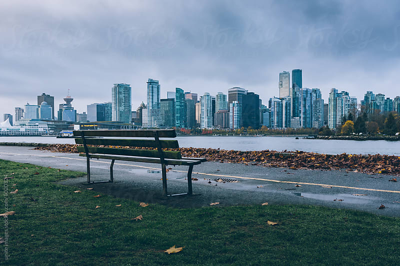 skyline of vancouver by unite images for Stocksy United