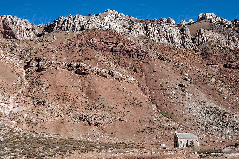 A church in a remote area. by Mike Marlowe for Stocksy United