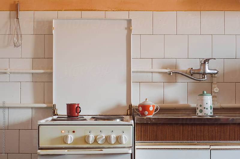 Old kitchen by Boris Jovanovic for Stocksy United