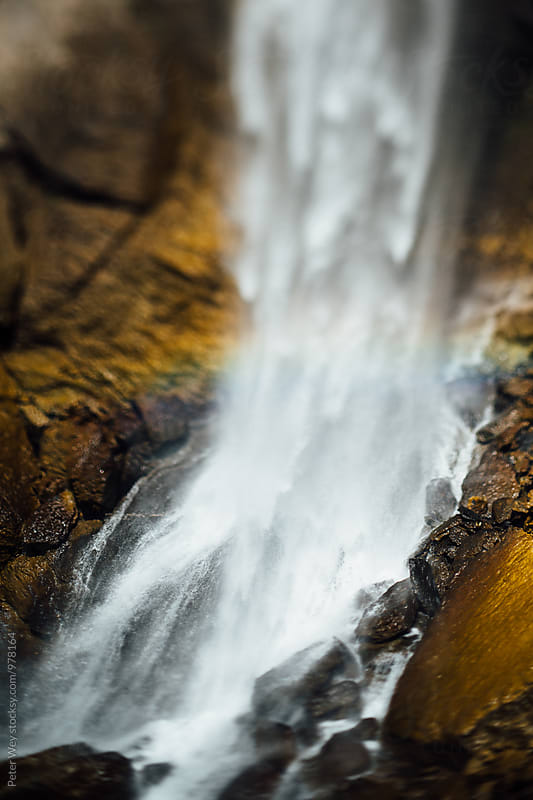 Berschnerfall waterfall by Peter Wey for Stocksy United