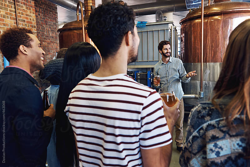 brewery tour by Daxiao Productions for Stocksy United