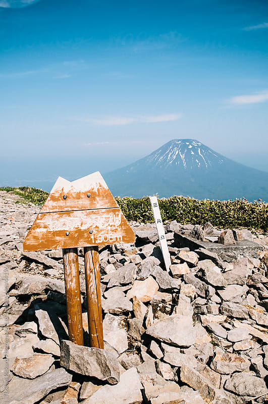 View Yotei-zan mountain, Hokkaido, Japan by Thomas Pickard for Stocksy United