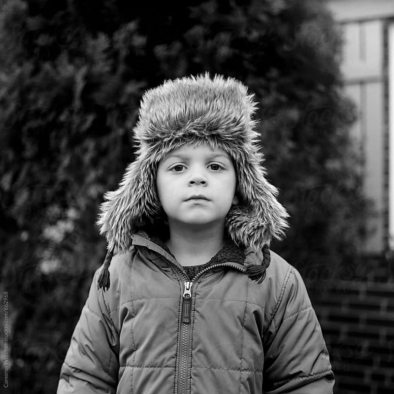 Winter portrait  by Cameron Whitman for Stocksy United