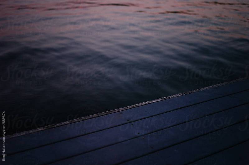 Dock and water by Benj Haisch for Stocksy United