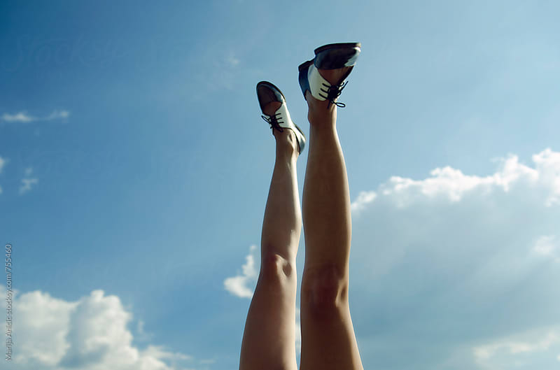 Walking on clouds by Marija Anicic for Stocksy United