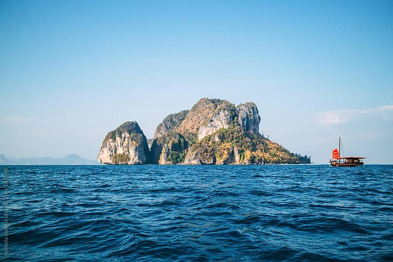 Island in the Andaman sea by michela ravasio for Stocksy United