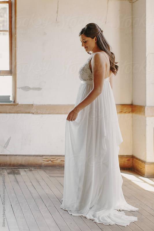 Woman on Wedding Day by Sidney Morgan for Stocksy United