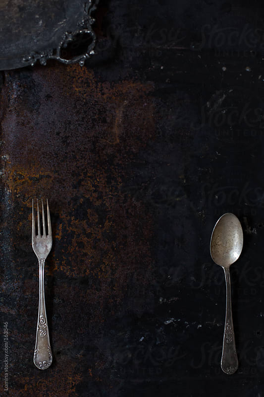 Fork and Spoon by Lumina for Stocksy United