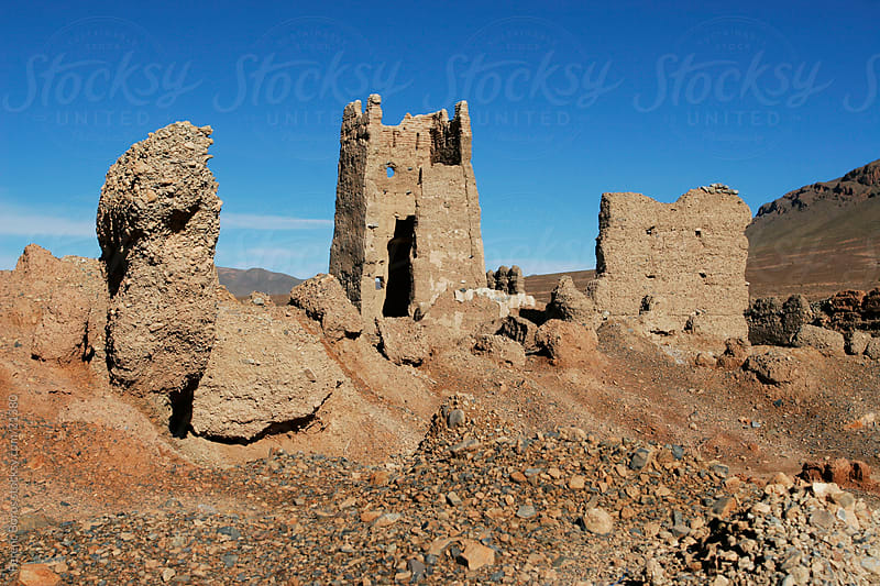 Ruins in Morocco by Ferenc Boros for Stocksy United