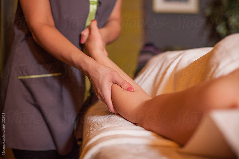 Massage Treatment in a Salon by Mosuno for Stocksy United