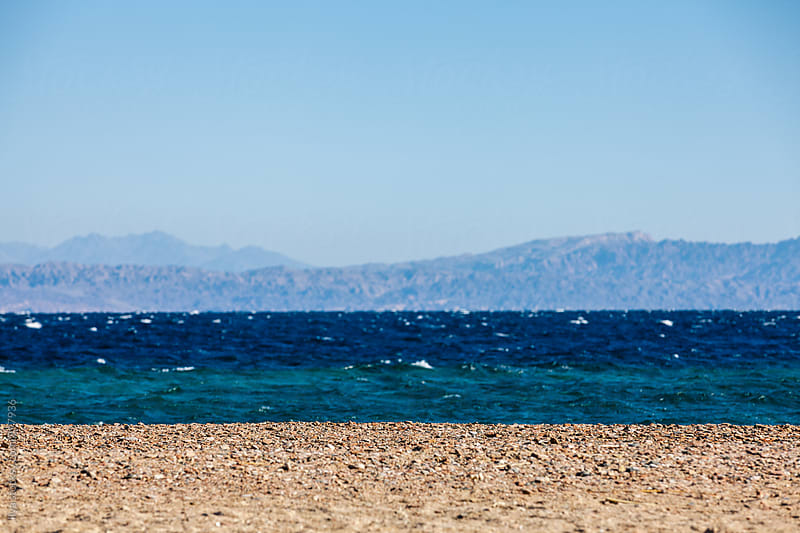 Idyllic tropical beach in Egypt by Ilya for Stocksy United