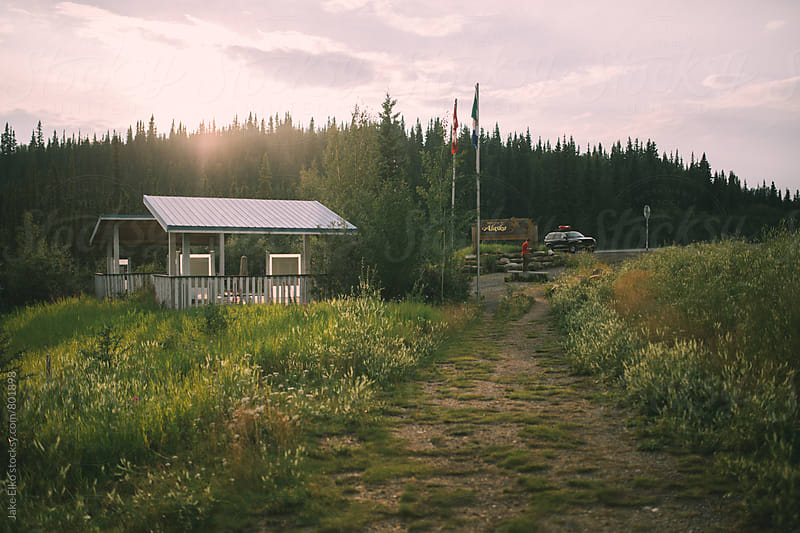 Welcome to Alaska by Jake Elko for Stocksy United